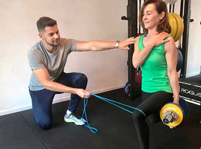 Personal Training in healwell Zurich massage and personal training