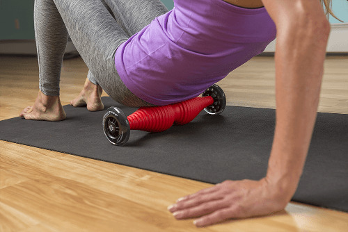 healwell TPiN Vector Body Roller exercise: Glutes