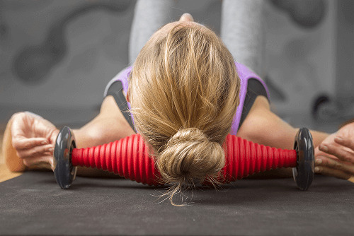 healwell TPiN Vector Body Roller exercise: Neck Roll