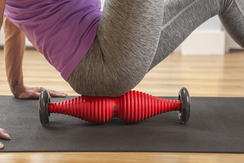 healwell TPiN Vector Body Roller exercise: Piriformis